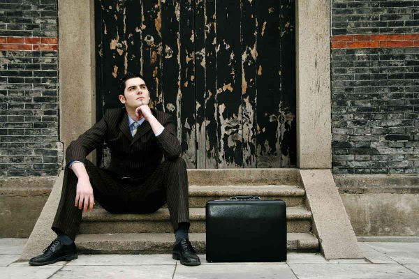 biznismen bez posla