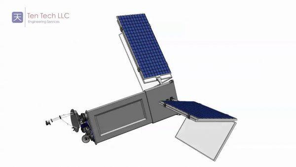Origami princio kod solarnih panela u svemiru