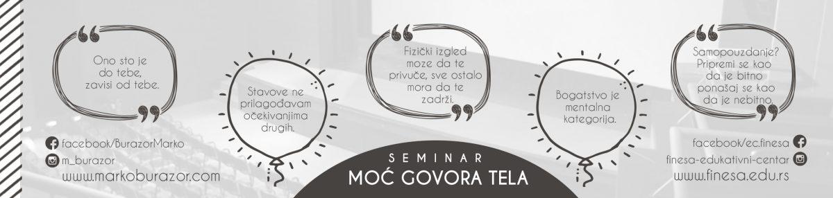 Agenda predavanja o neverbalnoj komunikaciji