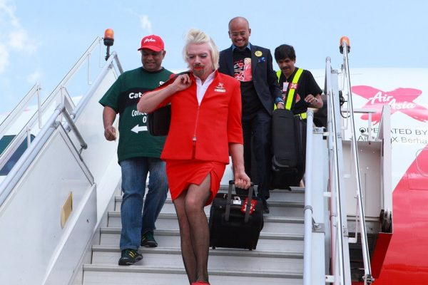 ricard branson stjuardesa