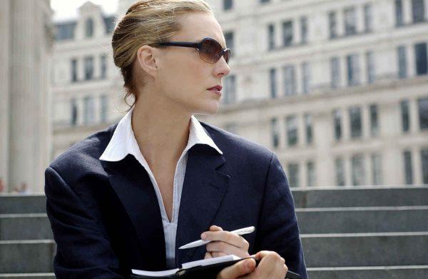 poslovna zena u akciji