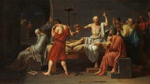 Sokratova smrt, slikara Žak-Luja Davida (1787.)