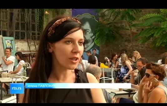 Jelena , umetnički direktor Galerije Polet