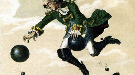 Baron Karl Fridrih Minhauzen