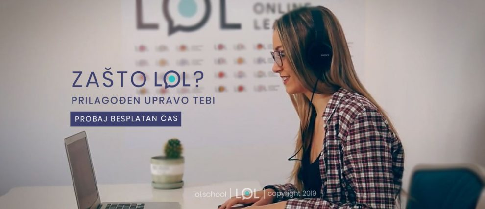 LoL platforma za učenje jezika